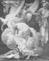 Sargent, Perseus on Pegasus Slaying Medusa