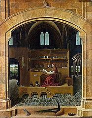 Antonello_da_Messina_-_St_Jerome_in_his_study, Wikimedia commons
