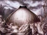 HR Giger Egg Silo I. L'uso dell'immagine in senso bibliotecario è stato ispirato da un contributo di Antonella De Robbio